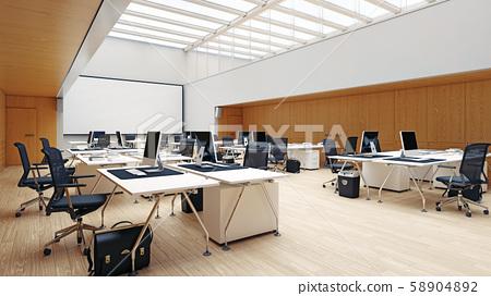 Modern  office interior design 58904892