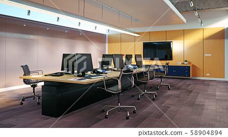 Modern  office interior design 58904894