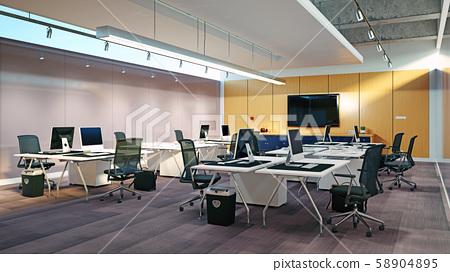 Modern  office interior design 58904895
