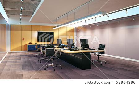Modern  office interior design 58904896