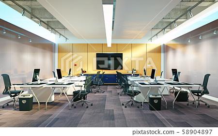 Modern  office interior design 58904897