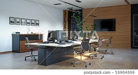 Modern  office interior design 58904899