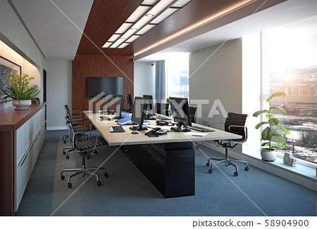 Modern  office interior design 58904900