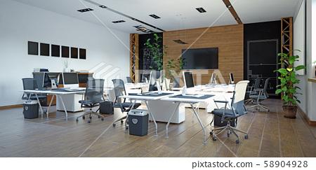 Modern  office interior design 58904928