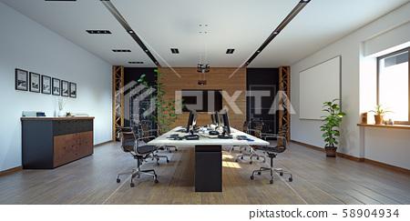 Modern  office interior design 58904934