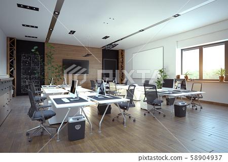 Modern  office interior design 58904937