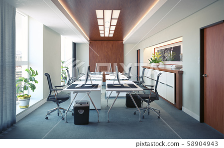 Modern  office interior design 58904943