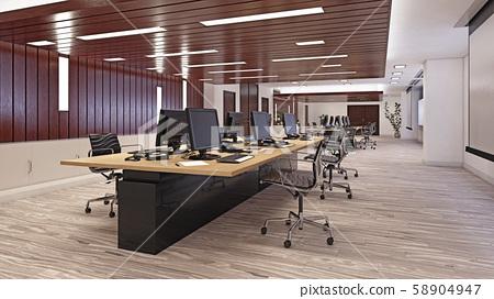 Modern  office interior design 58904947