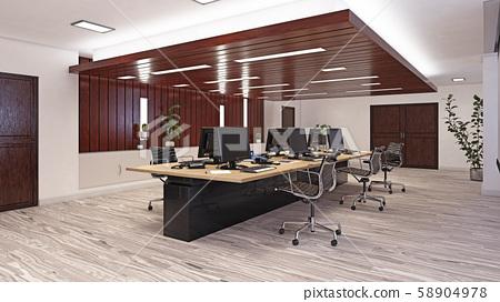 Modern  office interior design 58904978