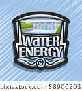 Vector logo for Water Energy 58906203