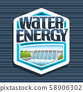 Vector logo for Water Energy 58906302