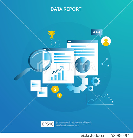 digital graph data for SEO analytics and 58906494