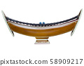 Thai classical music instrument : Xylophone on a white background 58909217