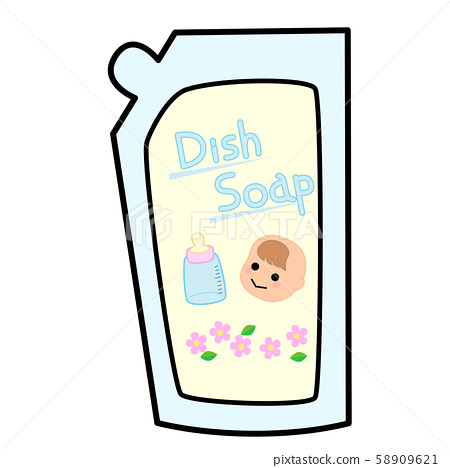 Baby dish cleaner Refill 58909621