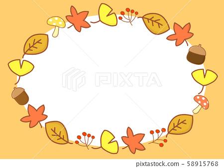 잎 잎 낙엽 낙엽 은행 나무 단풍 프레임 프레임 58915768
