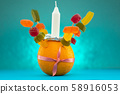 Orange Christingle is a symbolic object used in the Advent, Christmas and Epiphany services of many 58916053