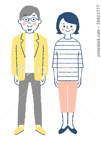 Young couple pink 58922777