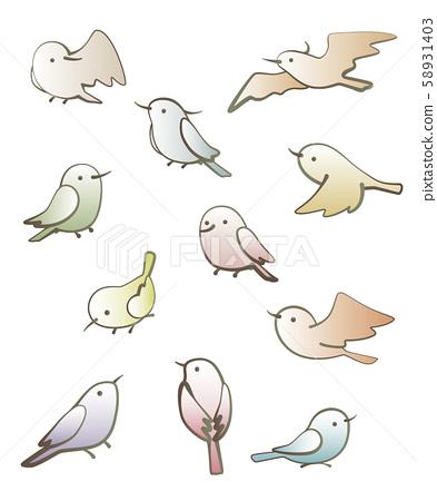A bird 58931403