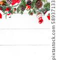 Merry Christmas and Happy New Year. Winter season 58937133