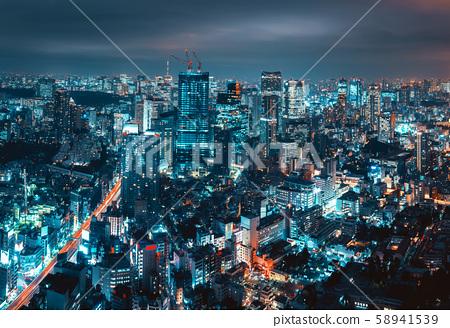 Tokyo city 58941539