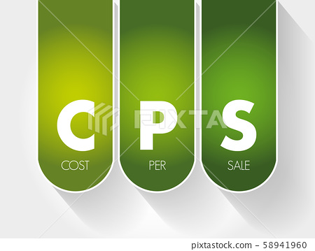 CPS - Cost Per Sale acronym 58941960