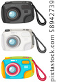 A Set of Digital Camera 58942739