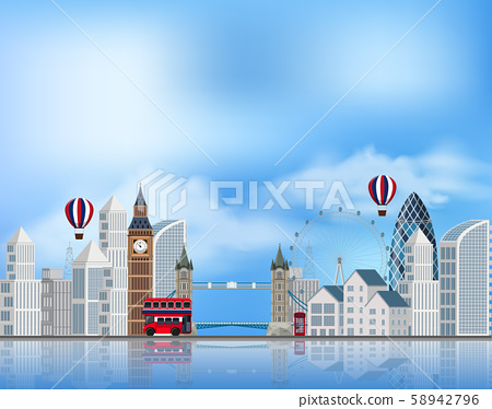 A Tourist Attraction in London 58942796