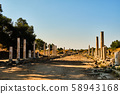 Ruins of ancient street in Side, Turkey 58943168