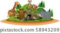 Animals at the Beautiful Nature 58943209