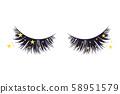 Luxury extension eyelashes 58951579