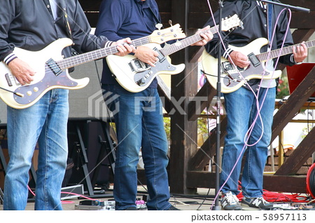 Amateur bands performing at local events 58957113