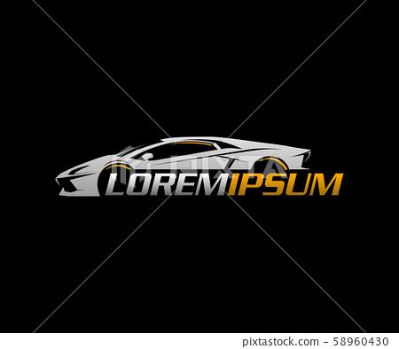 auto logo.sport car logo design concept template 58960430