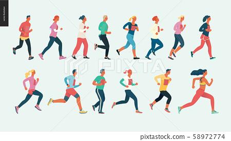 Marathon race group 58972774