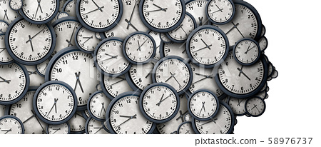 Concept Of Time Thinking 58976737