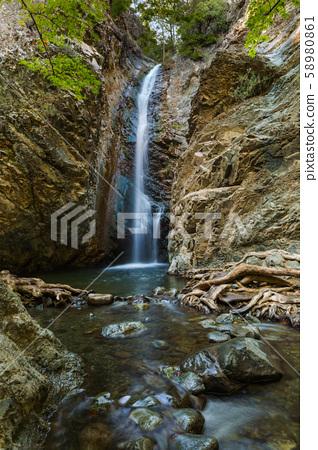 Millomeris Waterfalls in Cyprus 58980861
