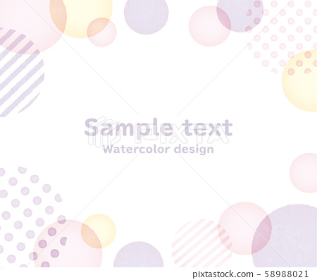 frame, polka dot, circle 58988021