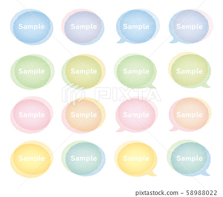 vector, vectors, watercolors 58988022