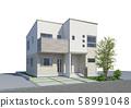 주택 외관 58991048