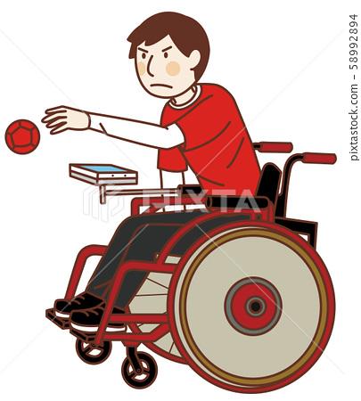장애인 올림픽에서 보차 58992894