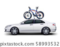 bicycles on car 58993532