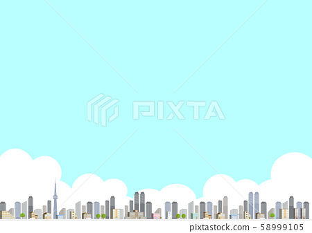 城市景观景观 58999105