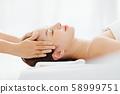 女性美容头部水疗 58999751