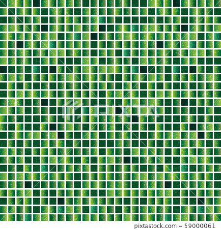 녹색 모자이크 배경 59000061