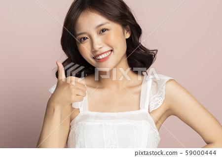 女性美色彩背景 59000444