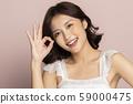 女性美色彩背景 59000475