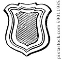 Tressure are generally forms a border to the 59011935