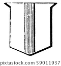 Pallet Ordinary is one half the width of the pale, 59011937