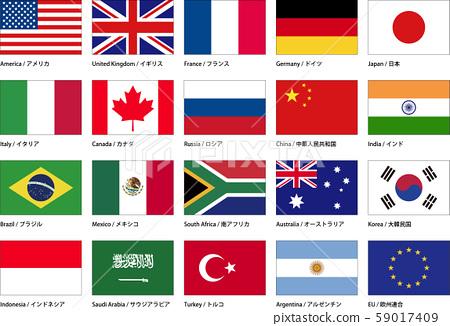 國旗G20_a 59017409
