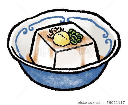 冷豆腐 59021117