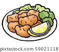 Deep-fried chicken 59021118
